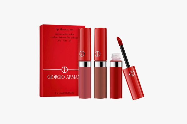 Armani Beauty Lip Maestro Travel Trio