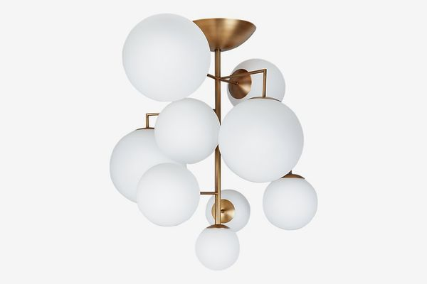 Artemis Frosted Chandelier