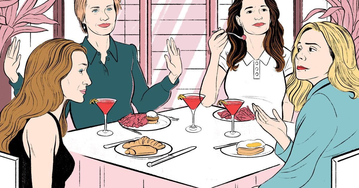 The Writers of Sex and the City Imagine Story Lines for a 2018 Season