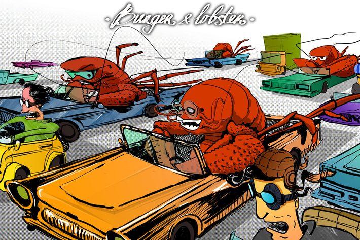 Never let the lobster drive the Coupe de Ville.