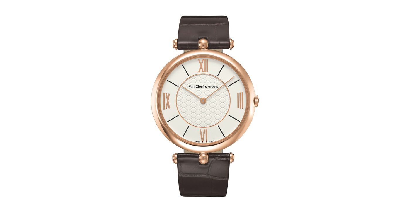 Van Cleef & Arpels Pierre Arpels Pink Gold Watch