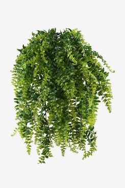 Artificial Hanging Ferns (Pack of Two)