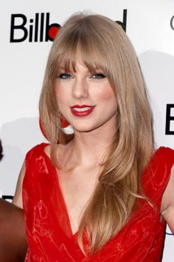 Taylor Swift's new haircut.