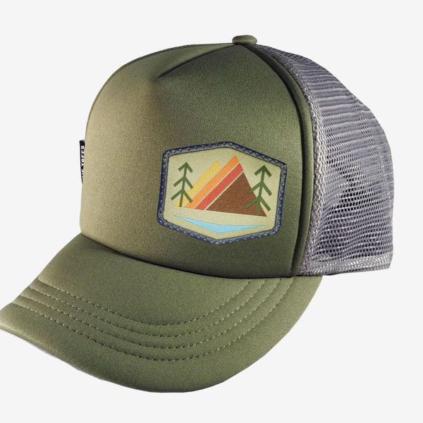 We the Trees Trucker Hat, Olive Gray