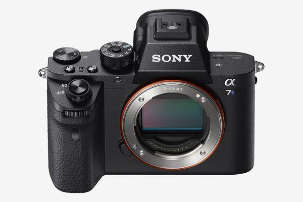 Sony a7S II ILCE7SM2/B 12.2 MP E-mount Camera With Full-Frame Sensor, Black