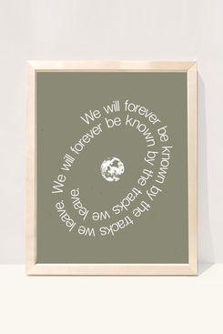 Wilde House Paper Earth Art Print