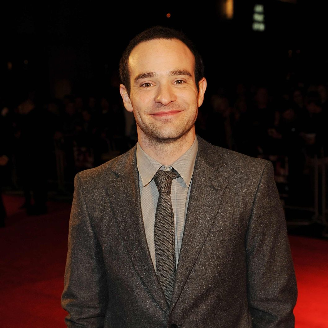 "LONDON, ENGLAND - OCTOBER 12: Charlie Cox attends a screening of ""Hello Carter"" during the 57th BFI London Film Festival at Odeon West End on October 12, 2013 in London, England.  (Photo by Eamonn M. McCormack/Getty Images for BFI)"