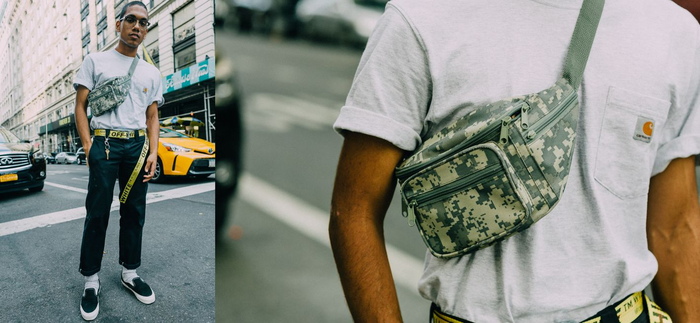 b1a87532f80 New Yorkers Have Finally Figured Out How to Wear Fanny Packs