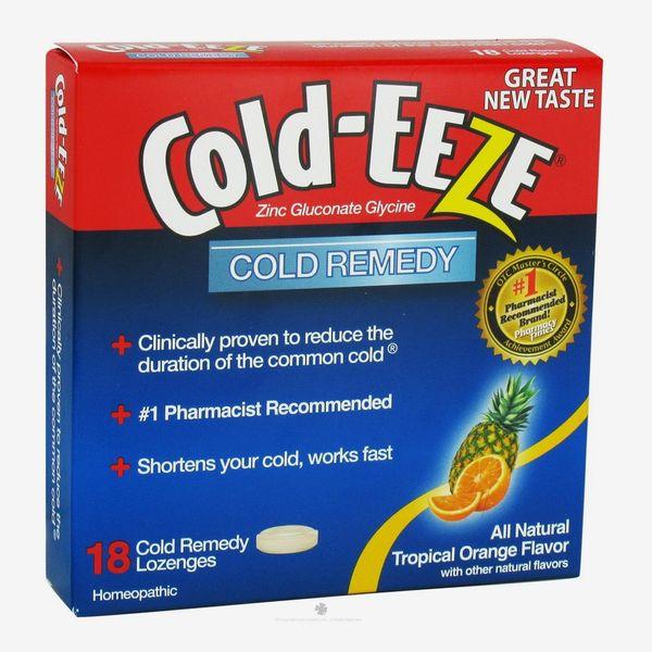 Cold-Eeze Zinc Gluconate Glycine Cold Remedy Lozenges