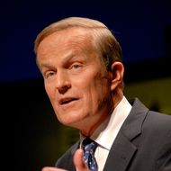 Republican candidate for the U.S. Senate, Todd Akin responds to a questions during a debate at Washington University in St. Louis, Friday, July 6, 2012.  The candidates are competing to challenge Sen. Claire McCaskill, D-Mo., in the fall election. (AP Photo/St. Louis Post-Dispatch, Sid Hastings) EDWARDSVILLE INTELLIGENCER OUT; THE ALTON TELEGRAPH OUT