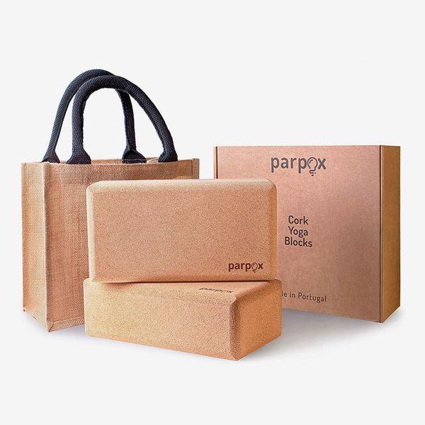 Premium Cork Yoga Block Set
