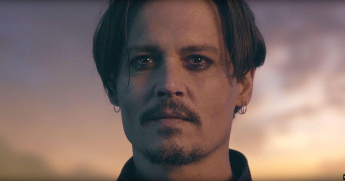 Watch Johnny Depp Hallucinate a Buffalo Johnny Depp Cologne