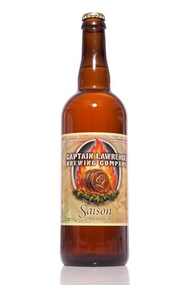 "Captain Lawrence Brewing Co. (New York)<br>$15.50 for 25.5 oz. <br><strong>Type:</strong> Saison<br><strong>Tasting notes:</strong> ""A beer style that was traditionally brewed for farm workers in the days when water wasn't refreshing—it was poison. Spicy and dry, with hints of fruit from American hops."" <br>—Matt Barclay, cellar manager, Bierkraft<br>   <br>"