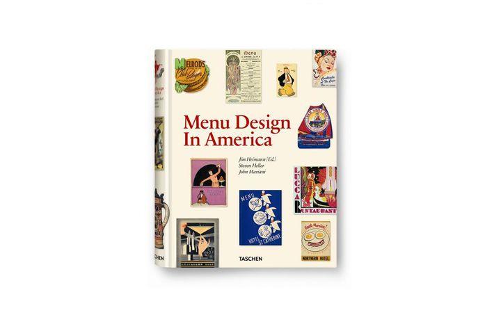 Taschen's <em>Menu Design in America</em>.