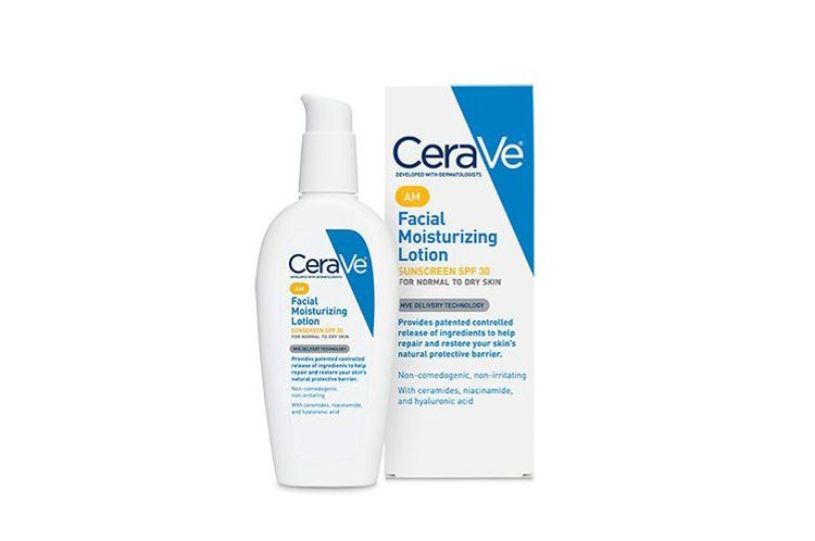 CeraVe AM Face Moisturizer With Sunscreen, SPF 30