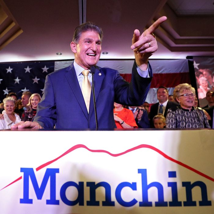 If Democrats Have Problems Holding >> Manchin Can T Be Democrats Only West Virginia Strategy