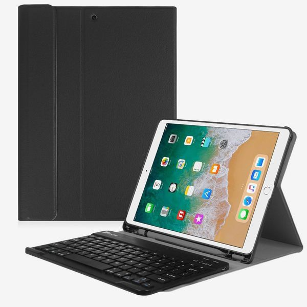 Fintie iPad Pro 10.5 Keyboard Case with Built-in Apple Pencil Holder
