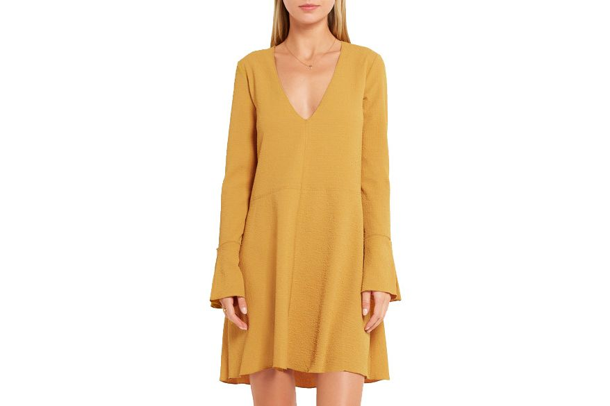 See by Chloé stretch crepe minidress