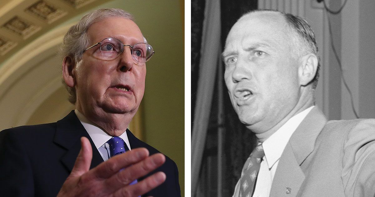 Today's GOP Uses Filibuster Just Like Segregationists Did