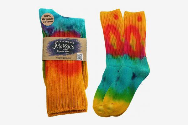 Chaussettes classiques en coton Tie Dye de Maggie