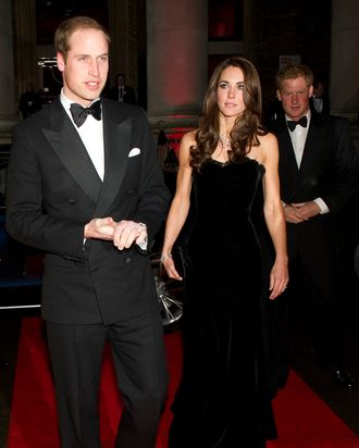 Prince William & Kate Middleton.