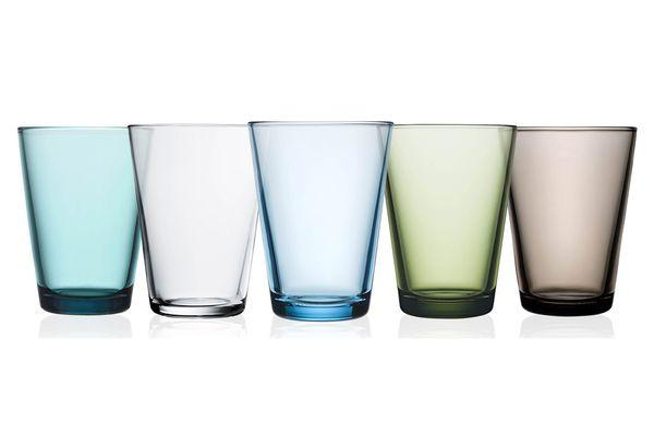 Iittala Kartio Set of Two Glass Tumblers