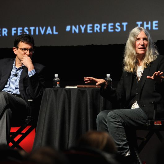 The New Yorker Festival 2015 - Patti Smith Talks With David Remnick