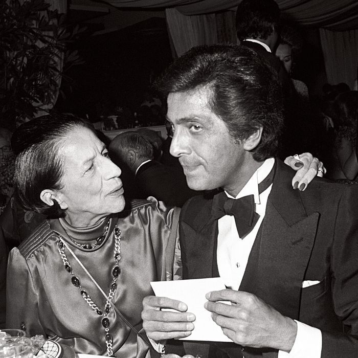 Vreeland and Valentino.