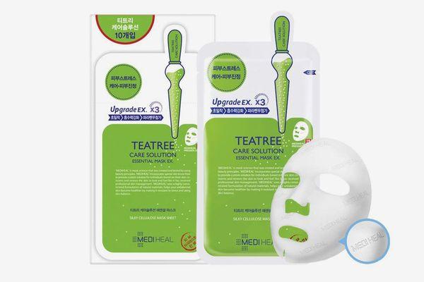 Mediheal Tea Tree Essential Blemish Control Sheet Mask (5 Masks)