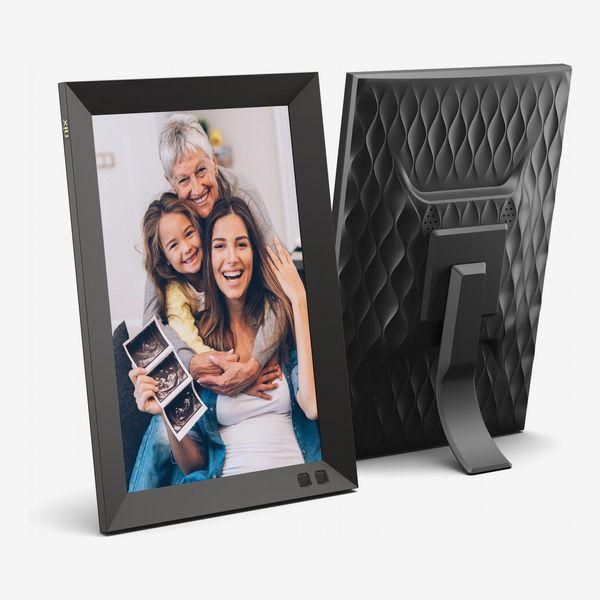"NIX 10.1"" Wall Mountable HD Digital Photo Frame with Auto Rotate and Motion Sensor"