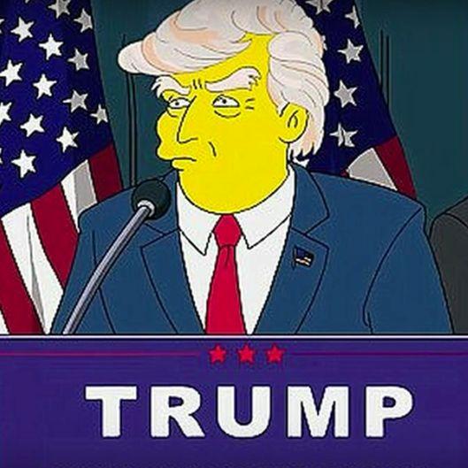Trump Präsident Simpsons