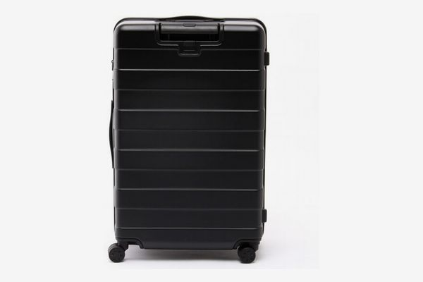 Muji Adjustable Handle Hard Carry Suitcase 87L