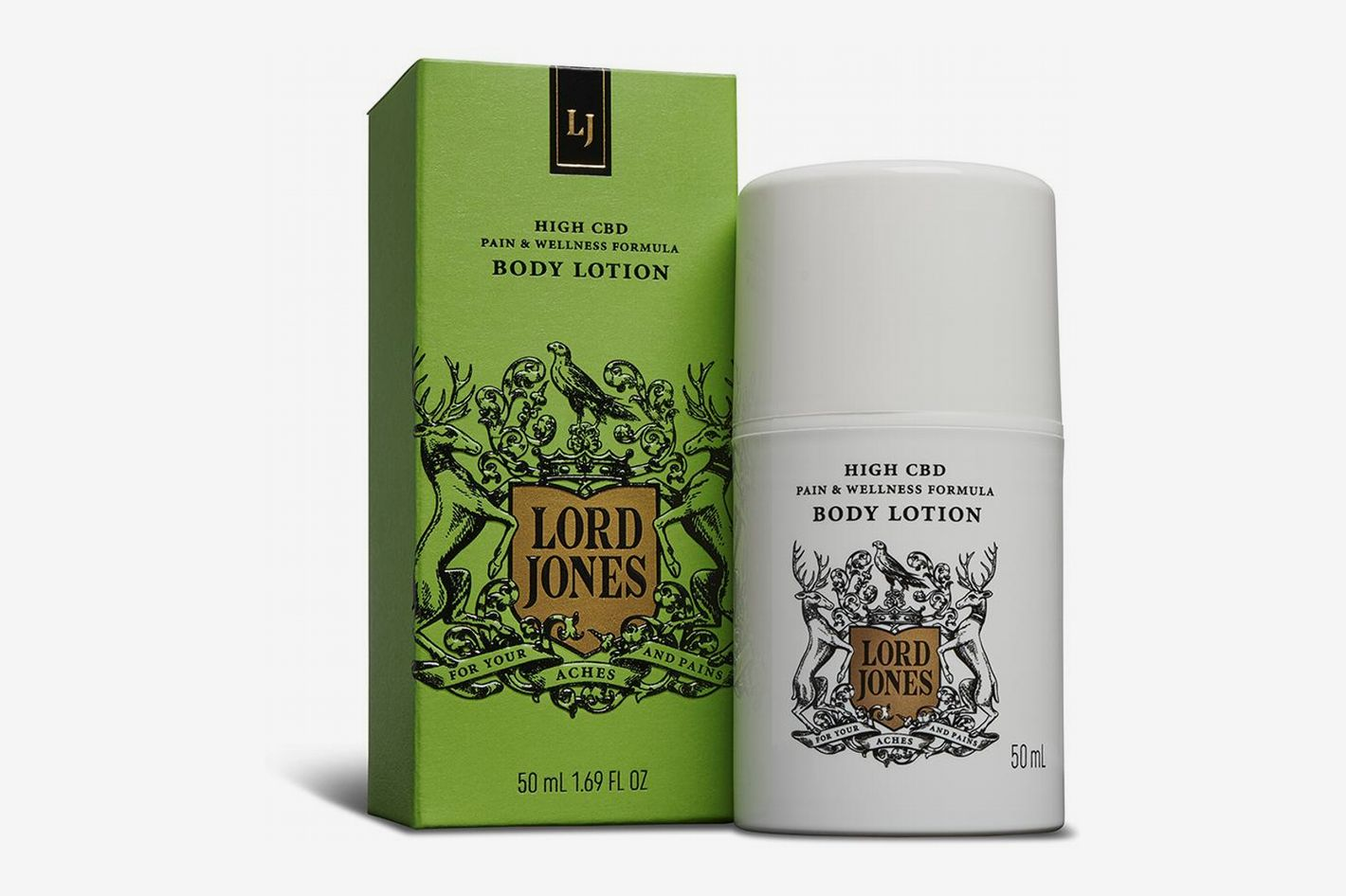 Lord Jones High CBD Formula Body Lotion