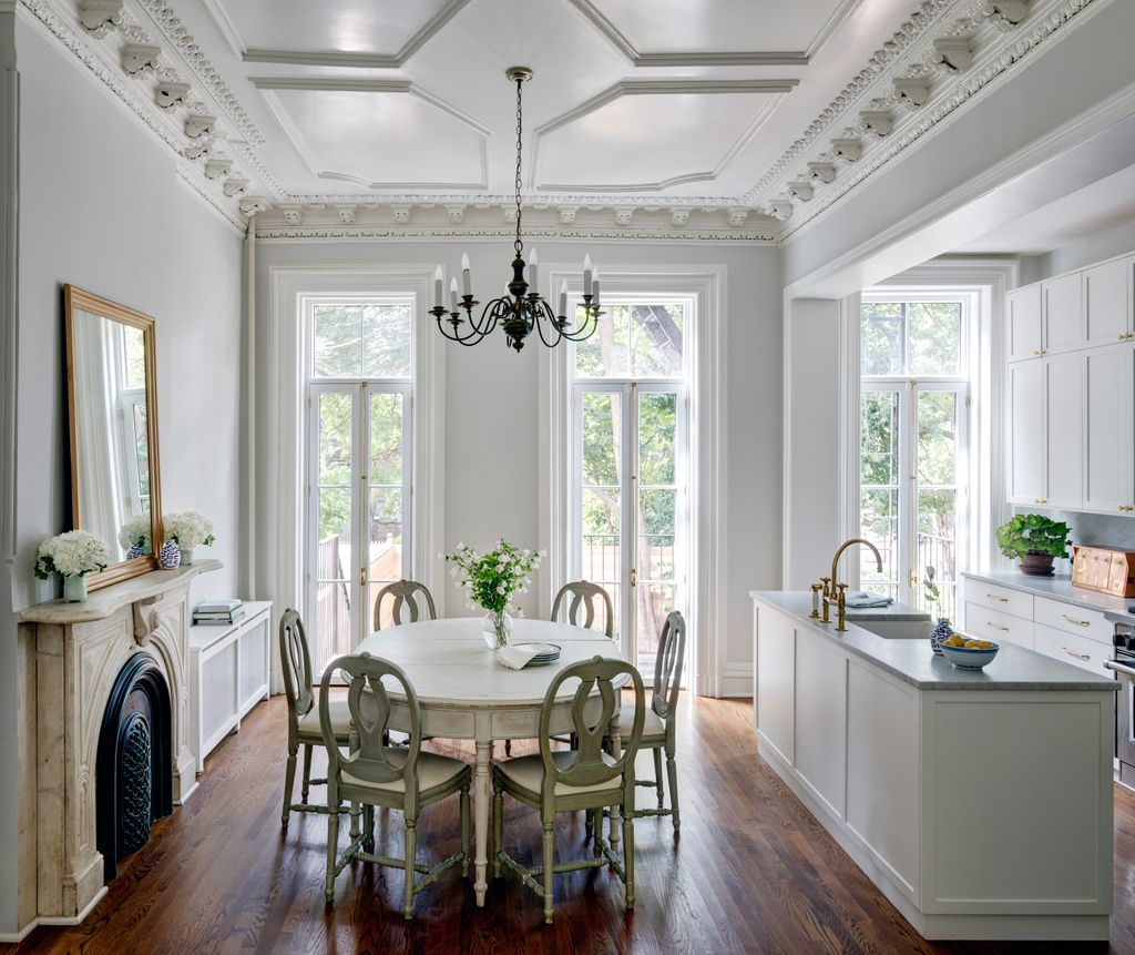A Landmarked 19th-Century Brownstone Gets a Sunny Refresh