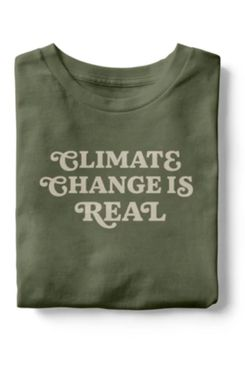 Social Goods Climate Change is Real T-Shirt
