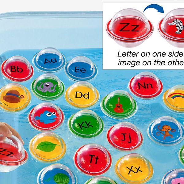 Float & Find Alphabet Bubbles
