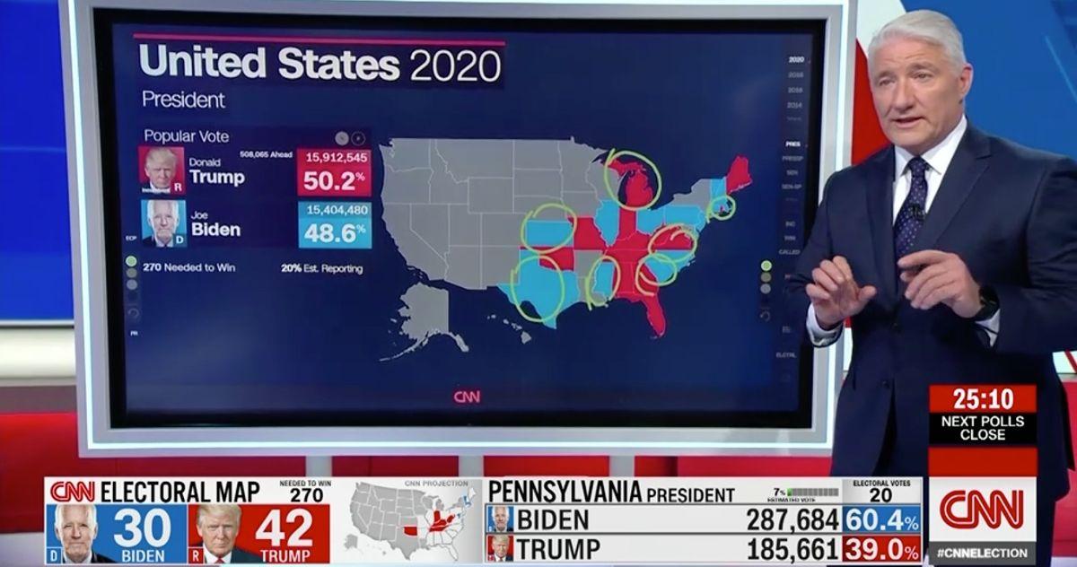 John King Has Fun Covering 2020 Election On Cnn