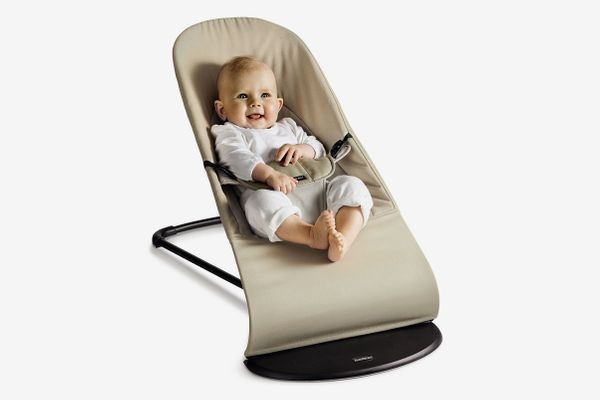 BabyBjörn Bouncer Balance Soft — Khaki/Beige, Cotton