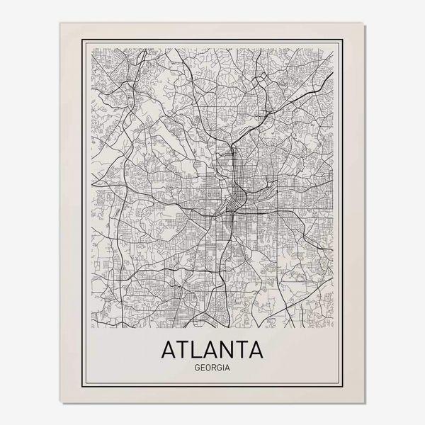 Motivated Wall Art Atlanta Poster