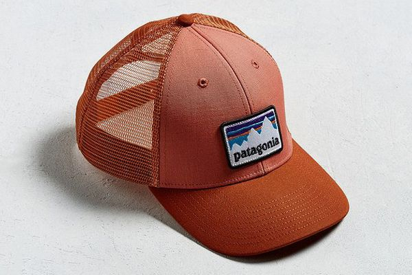 Patagonia Rusted Shop Patch Lo Pro Trucker Hat
