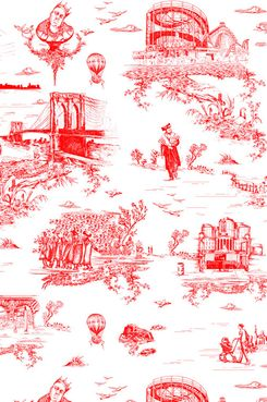 A sampling of Brooklyn Toile.