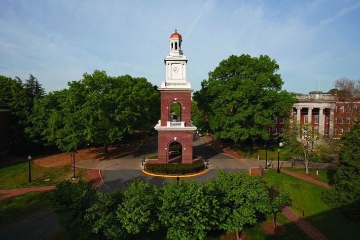 The University of Mary Washington campus.