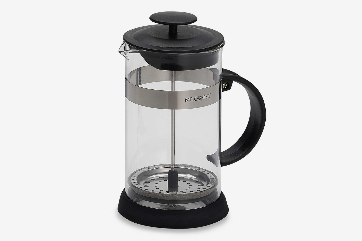 Mr. Coffee 4-Cup Coffee Press in Black