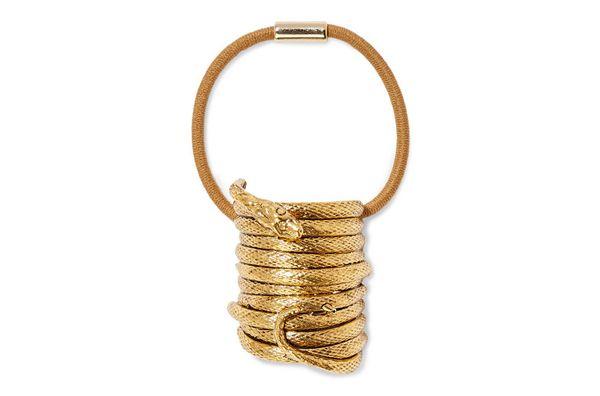 Jennifer Behr Medusa gold-plated hair tie