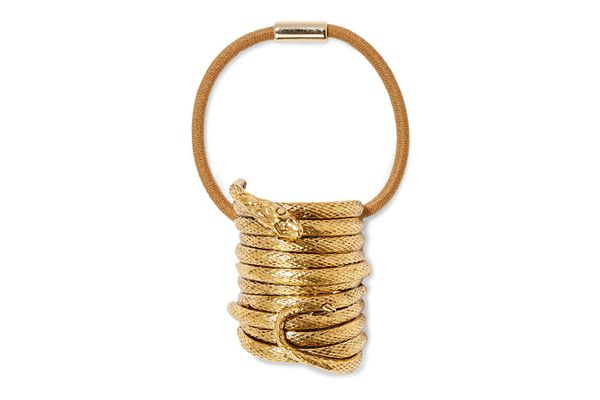 Jennifer Behr Medusa gold-plated hair tie