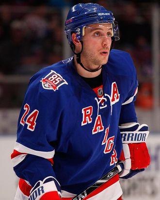 Ryan Callahan #24 of the New York Rangers.