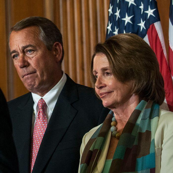 Boehner, Congressional Leaders Meet To Sign Bill On Strengthening Medicare
