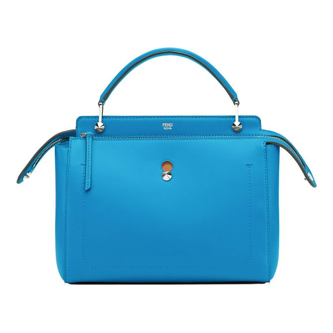 ea5f80b44838 So you want to be somewhat responsible and get a practical every day bag   Go for this Fendi tote that is roomy enough for work but have fun with the  color ...