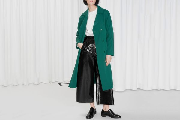 & Other Stories Double Breasted Trench Coat