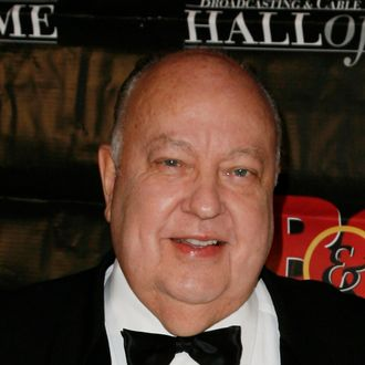 NEW YORK - OCTOBER 21: Roger Ailes, Chairman and CEO of FOX Television Stations attends the 18th Annual Broadcasting & Cable Hall of Fame Awards at the Waldorf-Astoria on October 21, 2008 in New York City. (Photo by Joe Kohen/WireImage)